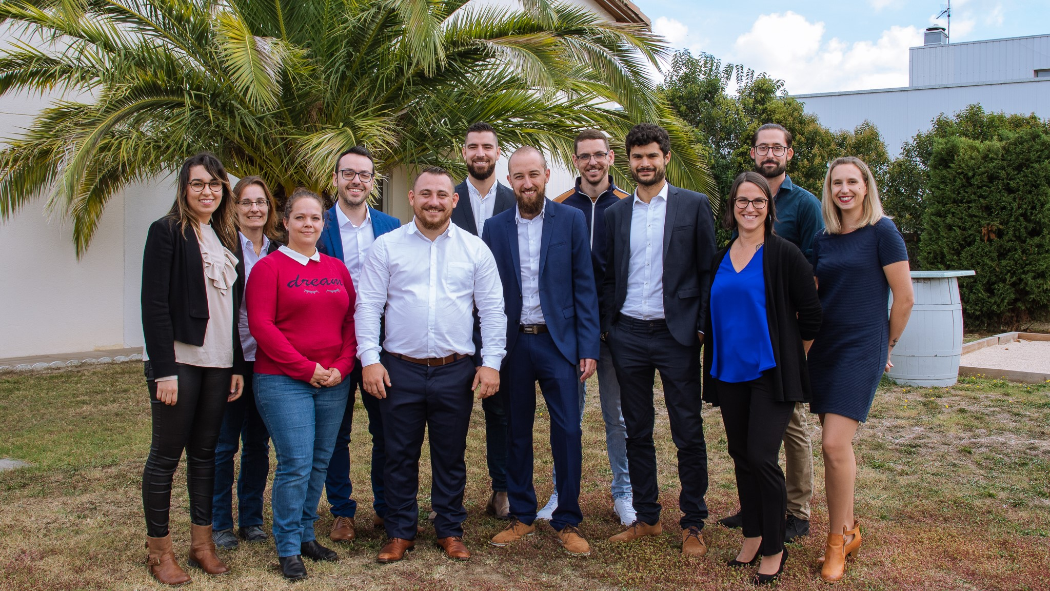 Portrait collaborateurs du groupe MCGR